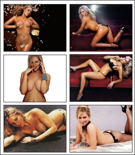 Abi Titmuss Screensaver