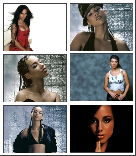 Alicia Keys Screensaver