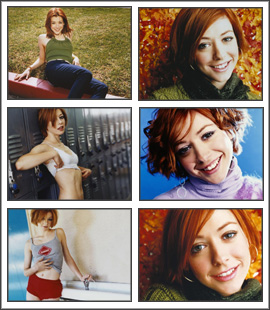 Alyson Hannigan Screensaver