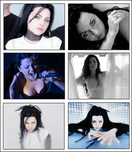 Amazing free screensaver of Amy Lee from the band Evanescence. Screen Shot