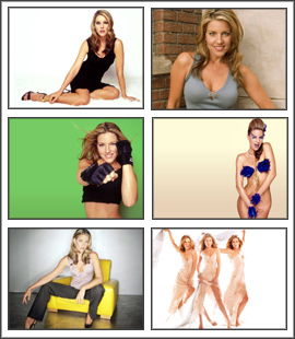 Andrea Parker Sexy Screensaver