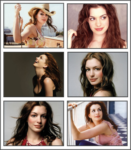 Anne Hathaway Screensaver