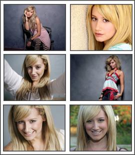 Ashley Tisdale Pretty Screensaver