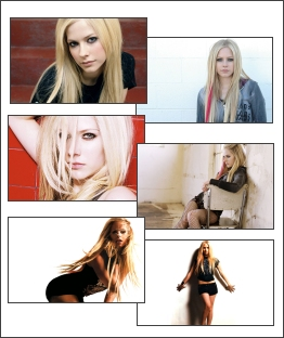 Avril Lavigne is so gorgeous in this free screensaver.