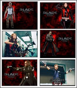 Blade Trinity Screensaver