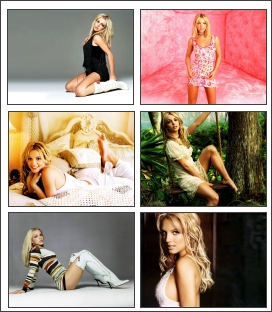 Britney Spears Screensaver