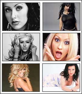 Christina Aguilera Beautiful Screensaver
