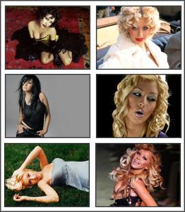 Free download Christina Aguilera 4 Screensaver