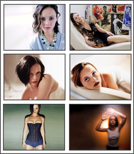 Enjoy this lovely free screensaver of Christina Ricci. Christina is famous Screen Shot
