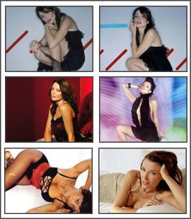 Dannii Minogue Sexy Screensaver