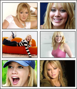 Hilary Duff Screensaver