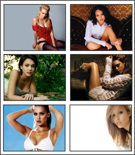 Jessica Alba Screensaver
