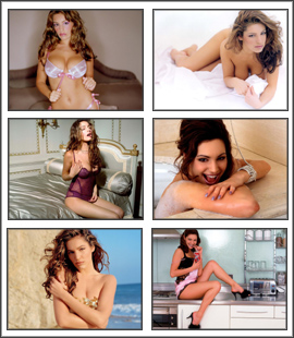 Kelly Brook Screensaver