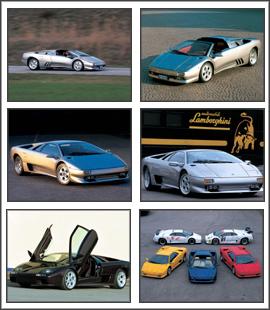 Free download Lamborghini Diablo Screensaver 2