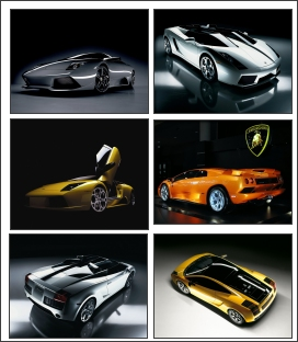 Smokin free screensaver with hot lamborghinis in full size images