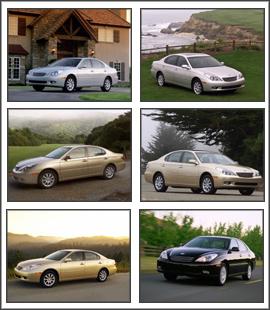 Free download Lexus ES330 Screensaver