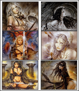 Screensavers on Luis Royo Screensaver 3 1 0 Models Photo Screensaver 1