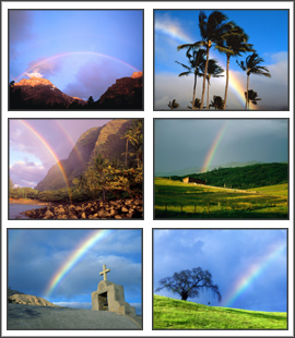 Rainbows Screensaver