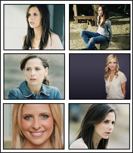 Sarah Michelle Gellar Screensaver