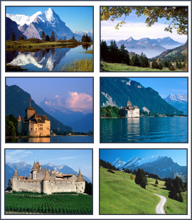 Free download Switzerland Screensaver